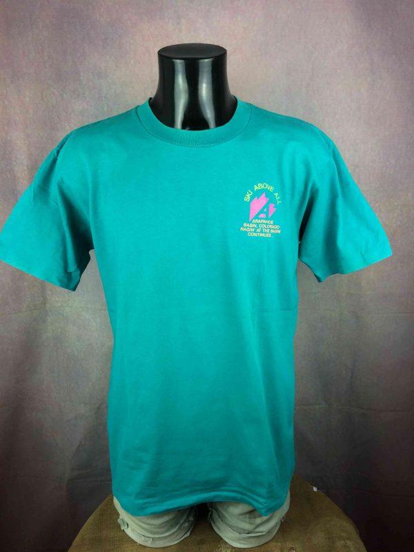 ARAPAHOE BASIN T Shirt Made in USA VTG 80s Gabba Vintag 2 scaled - ARAPAHOE BASIN T-Shirt Made in USA VTG 80s