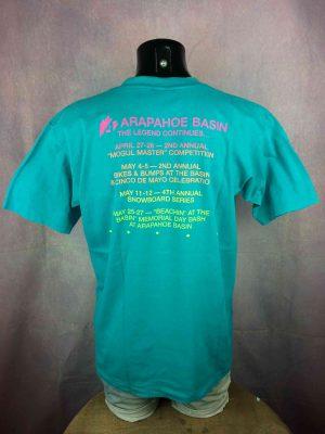 ARAPAHOE BASIN T-Shirt Made in USA VTG 80s - Gabba Vintage