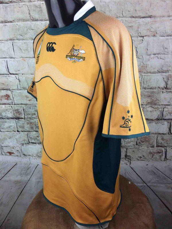 AUSTRALIA Maillot World Cup 2007 Home VTG Gabba Vintage 3 scaled - AUSTRALIA Maillot World Cup 2007 Canterbury