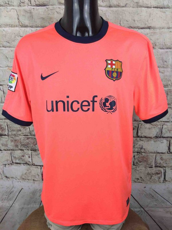 BARCELONA FC Maillot Away 2009 2010 Nike FCB - Gabba Vintage