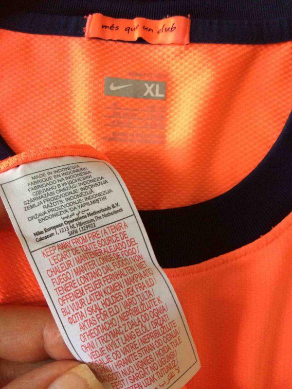 BARCELONA FC Maillot Away 2009 2010 Nike FCB Gabba Vintage scaled - BARCELONA FC Maillot Away 2009 2010 Nike FCB