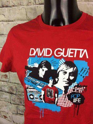 DAVID GUETTA T-Shirt Pop Life 2007 Vintage - Gabba Vintage