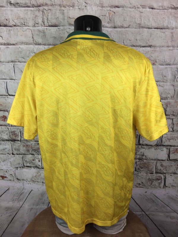 IMG 7465 compressed scaled - BRAZIL Maillot 1991 1993 Home Umbro Vintage