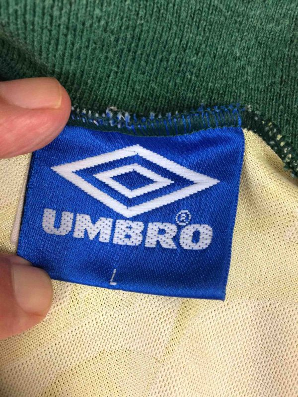 IMG 7466 compressed scaled - BRAZIL Maillot Vintage 1991 1993 Home Umbro