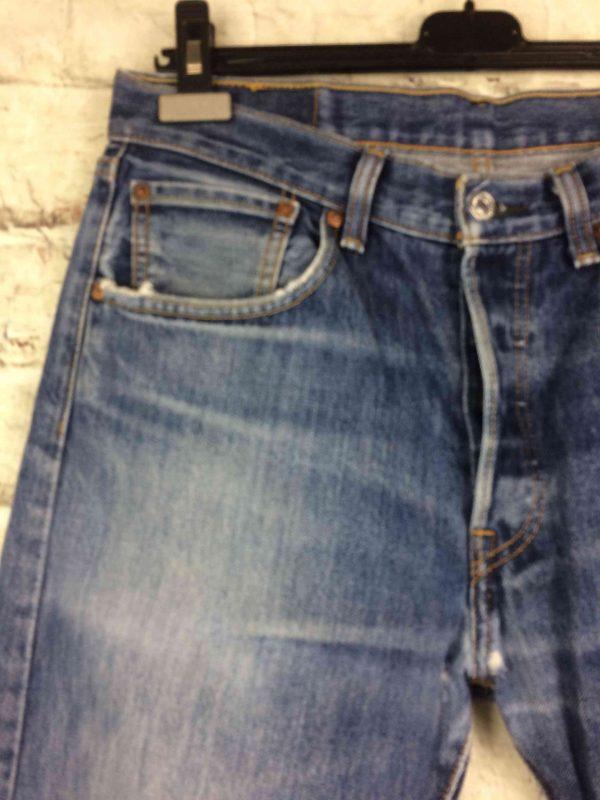 LEVI STRAUSS 501 Vintage W32 L32 Mid Blue Gabba Vintage 4 scaled - LEVI STRAUSS 501 Vintage W32 L32 Mid Blue 3