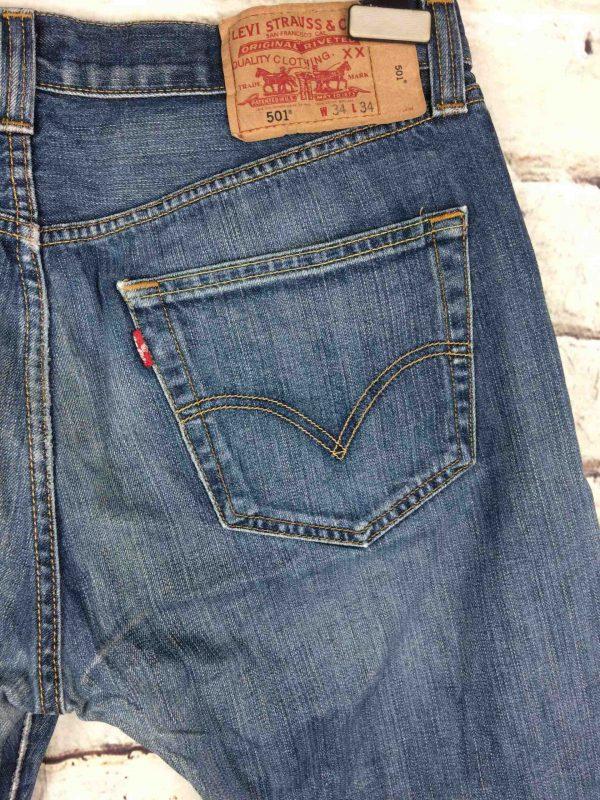 LEVI STRAUSS 501 Vintage W34 L34 Mid Blue 4 Gabba Vintage 4 scaled - LEVI STRAUSS 501 Vintage W34 L34 Mid Blue 4