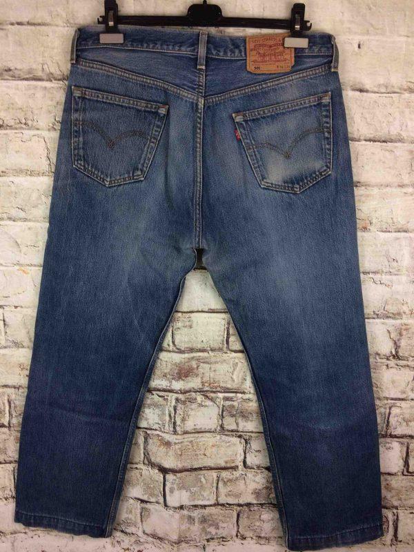 LEVI STRAUSS 501 Vintage W36 L36 Mid Blue Gabba Vintage 6 scaled - LEVI STRAUSS 501 Vintage W36 L36 Mid Blue 2