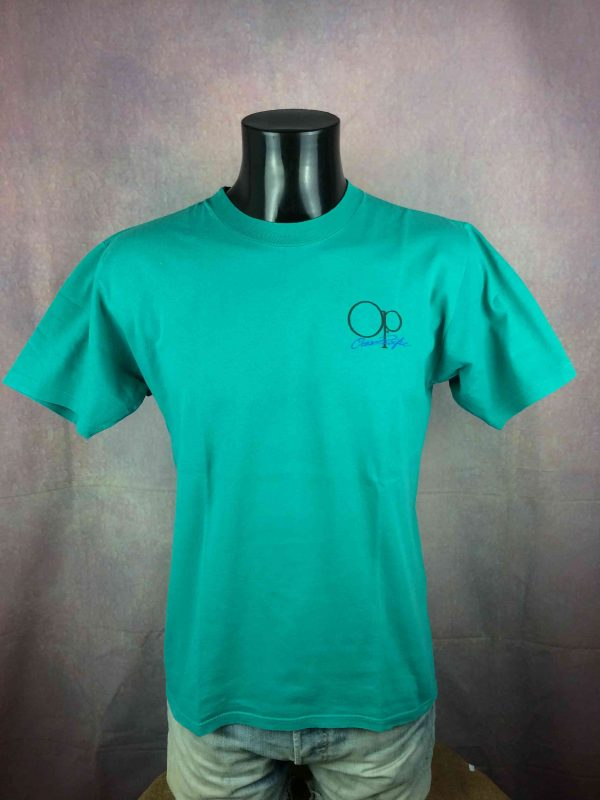 OCEAN PACIFIC T Shirt Vintage 80s Surf Check Gabba Vintage 1 scaled - OCEAN PACIFIC T-Shirt Vintage 80s Surf Check