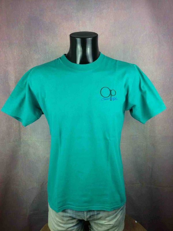 OCEAN PACIFIC T Shirt Vintage 80s Surf Check Gabba Vintage 1 scaled - OCEAN PACIFIC T-Shirt Vintage 80s Made in USA