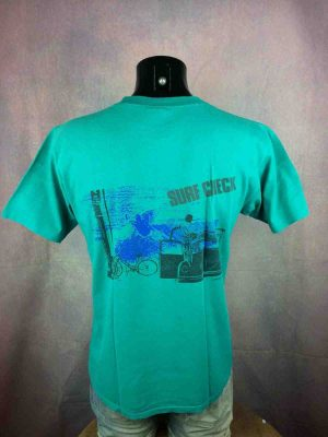 OCEAN PACIFIC T-Shirt Vintage 80s Surf Check - Gabba Vintage