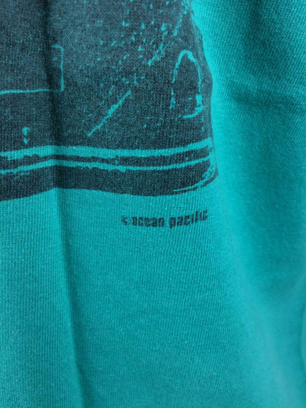 OCEAN PACIFIC T Shirt Vintage 80s Surf Check Gabba Vintage 4 scaled - OCEAN PACIFIC T-Shirt Vintage 80s Surf Check