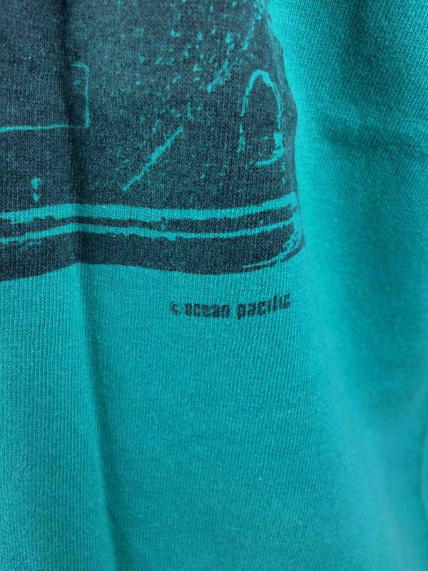 OCEAN PACIFIC T Shirt Vintage 80s Surf Check Gabba Vintage 4 scaled - OCEAN PACIFIC T-Shirt Vintage 80s Made in USA