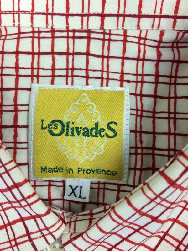 OLIVADES Chemise Made in France Provence Gabba Vintage 1 scaled - LES OLIVADES Chemise Made in France Provence