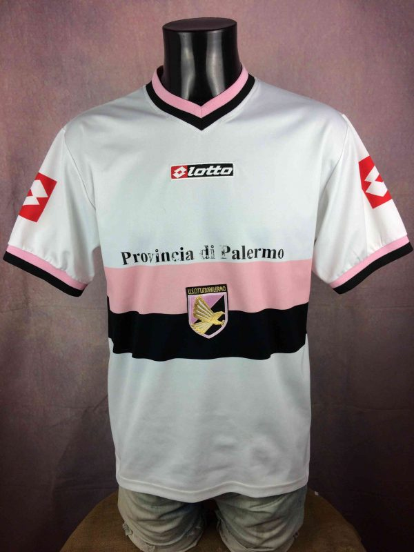 PALERMO Maillot Vintage 2004 2005 Away Lotto - Gabba Vintage