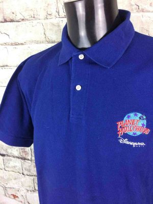 PLANET HOLLYWOOD Disneyland Paris Polo 1991 - Gabba Vintage