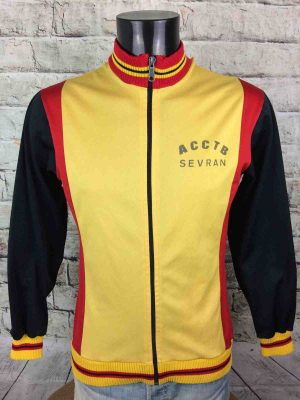 SEVRAN Club Veste Vintage 80s Made in France - Gabba Vintage
