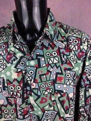 SPEEDY GRAPHITO Paris Chemise Vintage 90s - Gabba Vintage