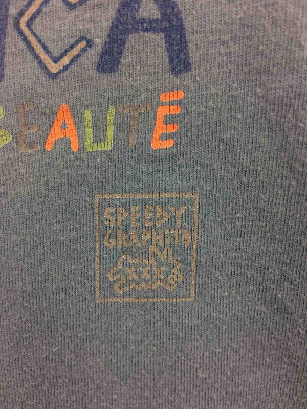 SPEEDY GRAPHITO T Shirt Corsica Vintage Gabba Vintage 4 scaled - SPEEDY GRAPHITO T-Shirt Corsica Vintage