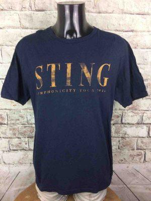 STING T-Shirt Symphonicity Tour 2010 Double - Gabba Vintage (2)