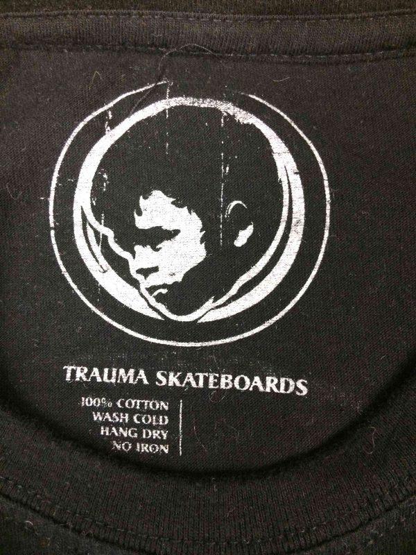 TRAUMA Skateboards T Shirt Useless Wooden Gabba Vintage 1 scaled - TRAUMA Skateboards T-Shirt Useless Wooden