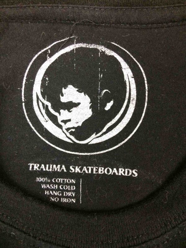 TRAUMA Skateboards T Shirt Useless Wooden Gabba Vintage 1 scaled - TRAUMA Skateboards T-Shirt Useless Wooden