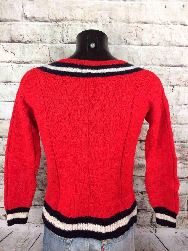 VINTAGE 80s Pullover Tricote Main V Unisex Gabba Vintage 1 scaled - VINTAGE 80s Pullover Tricoté Main V Unisex