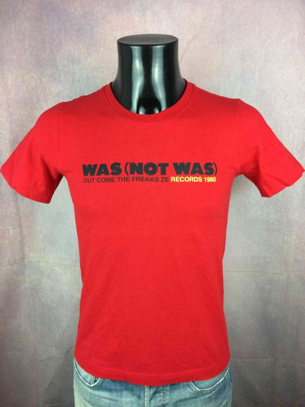 WAS NOT WAS T-Shirt Out Come The Freaks Ze - Gabba Vintage