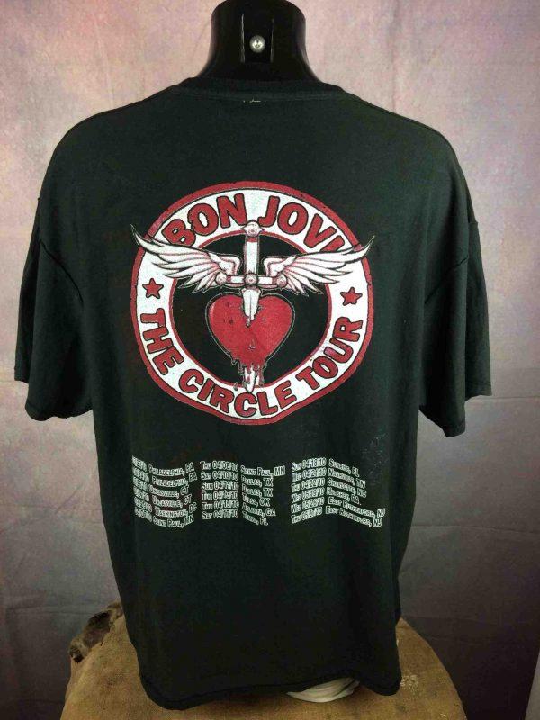 2 Tshirt in 1 BON JOVI Tour 2010 Teena Marie Gabba Vintage 4 scaled - 2 T-Shirt 1 BON JOVI Tour 2010 Teena Marie