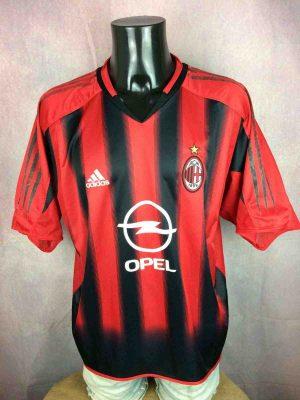 AC MILAN Jersey 2004 2005 Home Adidas VTG - Gabba Vintage