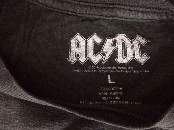 ACDC T Shirt 1975 High Voltage Rock Roll Gabba Vintage 4 scaled - AC/DC T-Shirt 1975 High Voltage Rock & Roll