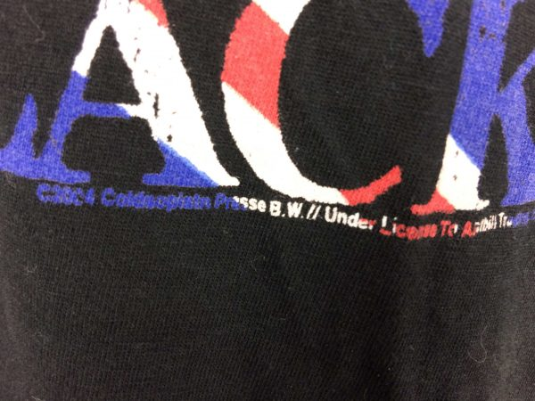ACDC T Shirt Back In Black England Official Gabba Vintage 4 scaled - AC/DC T-Shirt Back In Black England Official