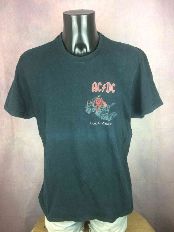ACDC T Shirt Black Ice Tour 2008 Local Crew Gabba Vintage 2 scaled - AC/DC T-Shirt Black Ice Tour 2008 Local Crew