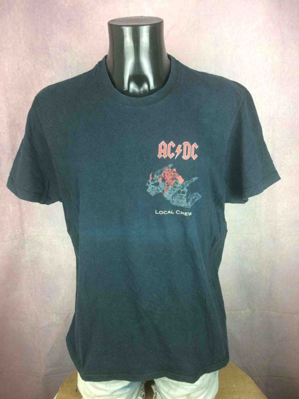 ACDC T Shirt Black Ice Tour 2008 Local Crew Gabba Vintage 2 scaled - AC/DC T-Shirt Black Ice Tour 2008 Local Crew