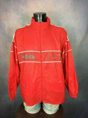 ADIDAS Veste Jacket 3 Stripes Vintage 90s Tunisia - Gabba Vintage
