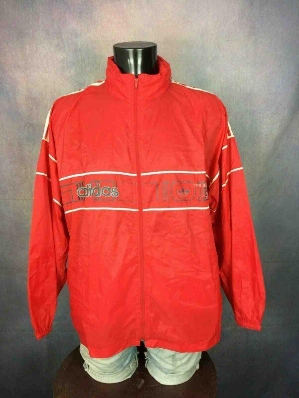 ADIDAS Jacket 3 Stripes Vintage 90s Tunisia - Gabba Vintage