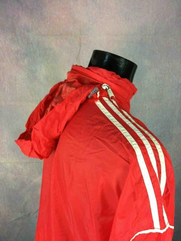 ADIDAS Jacket 3 Stripes Vintage 90s Tunisia Gabba Vintage 4 - ADIDAS Jacket 3 Stripes Vintage 90s Tunisia