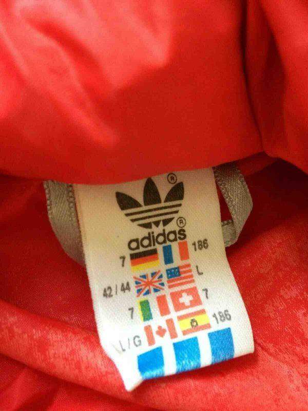 ADIDAS Jacket 3 Stripes Vintage 90s Tunisia Gabba Vintage 6 - ADIDAS Jacket 3 Stripes Vintage 90s Tunisia