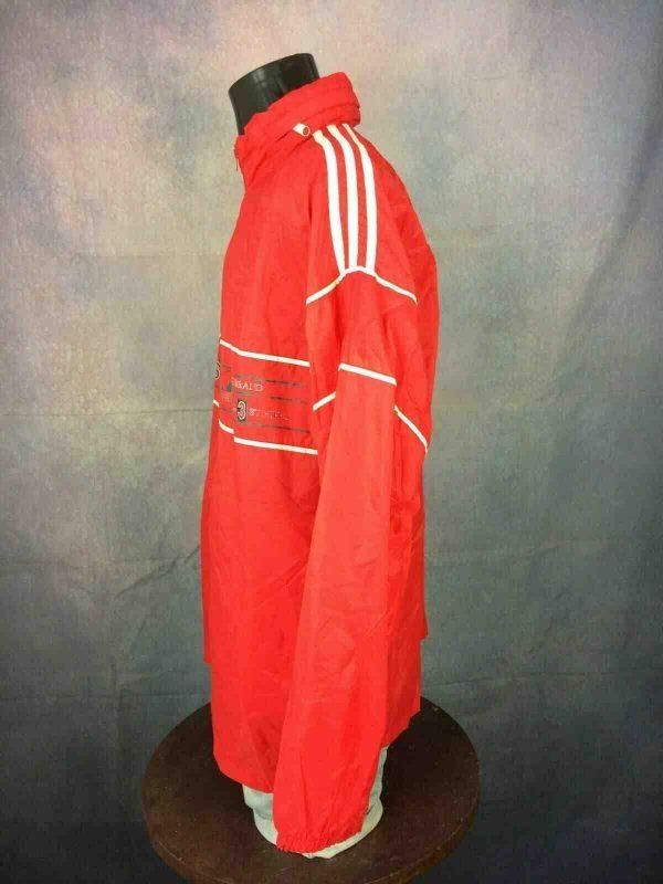 ADIDAS Jacket 3 Stripes Vintage 90s Tunisia Gabba Vintage 7 - ADIDAS Jacket 3 Stripes Vintage 90s Tunisia