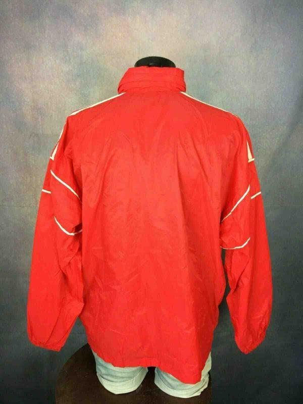 ADIDAS Jacket 3 Stripes Vintage 90s Tunisia Gabba Vintage 8 - ADIDAS Jacket 3 Stripes Vintage 90s Tunisia