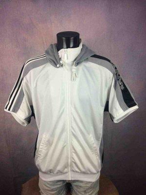 ADIDAS Jacket Hood Trefoil Short Vintage 90s - Gabba Vintage (2)