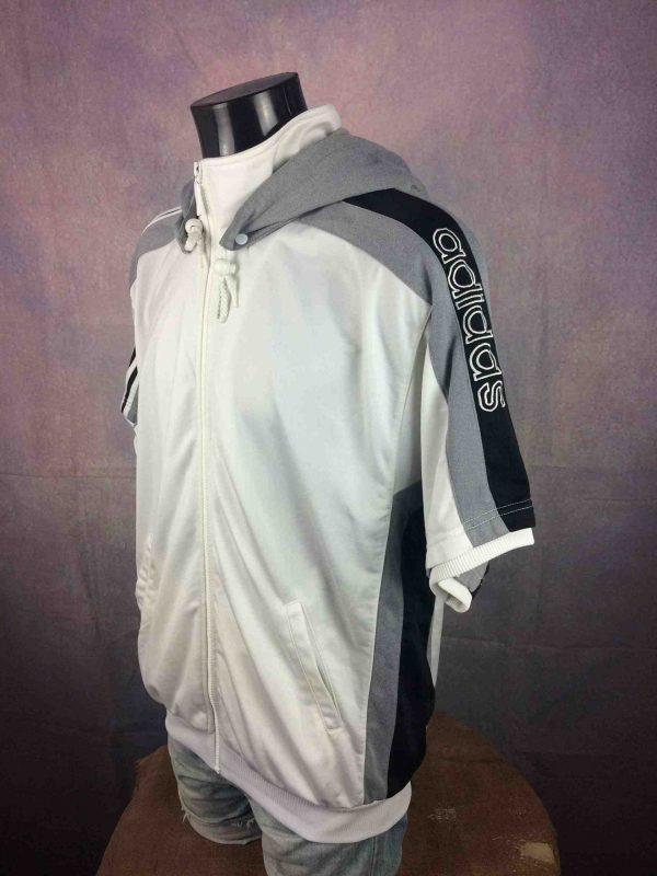 ADIDAS Jacket Hood Trefoil Short Vintage 90s Gabba Vintage 3 scaled - ADIDAS Jacket Hood Trefoil Short Vintage 90s