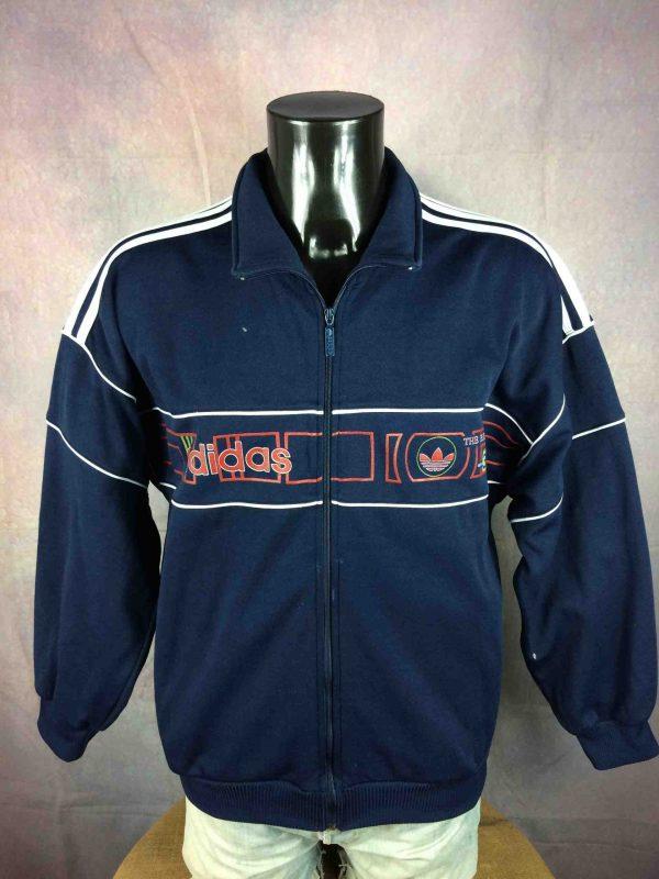 ADIDAS Jacket VTG 90s Brand With 3 Stripes - Gabba Vintage (2)