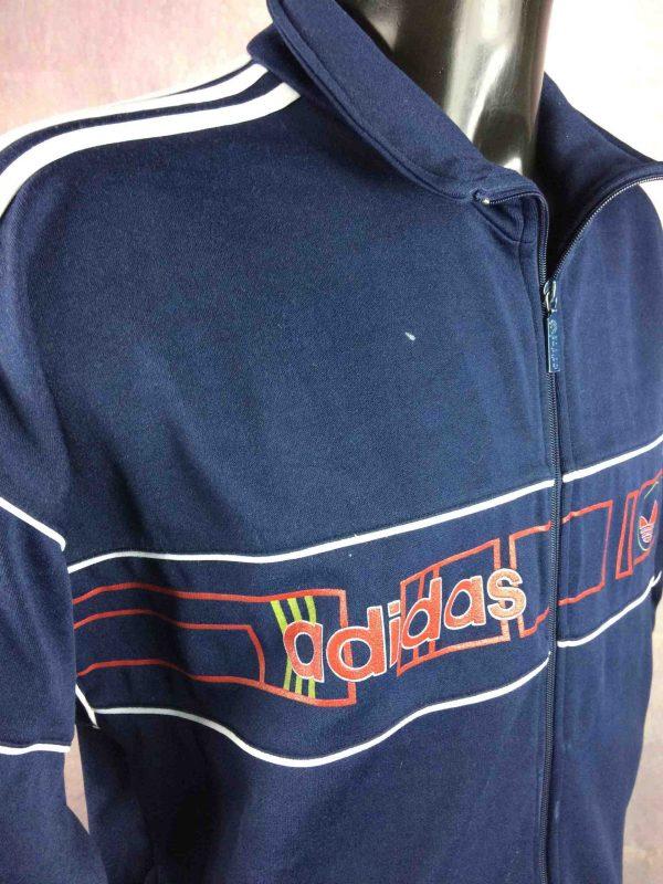ADIDAS Jacket VTG 90s Brand With 3 Stripes Gabba Vintage 4 scaled - ADIDAS Veste Vintage 90s Rave Sport Y2k