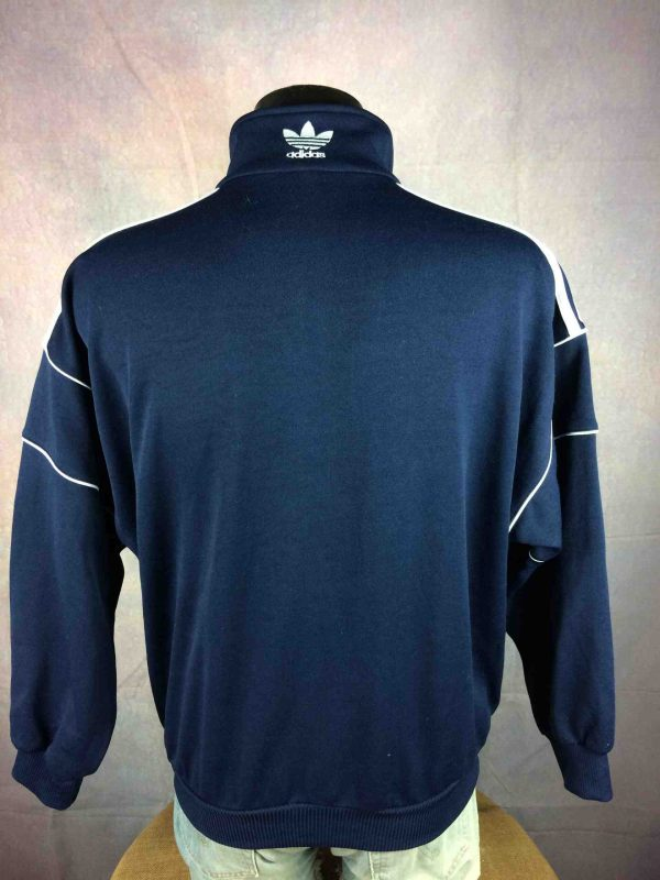ADIDAS Jacket VTG 90s Brand With 3 Stripes Gabba Vintage 9 scaled - ADIDAS Veste Vintage 90s Rave Sport Y2k