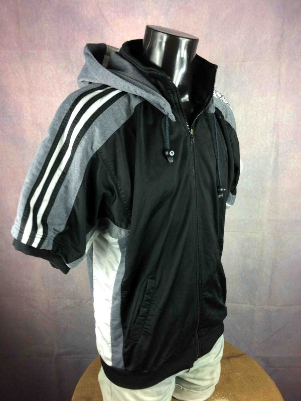 ADIDAS Jacket VTG 90s Trefoil Hood Warm Up Gabba Vintage 4 scaled - ADIDAS Veste Vintage 90s Trefoil Warm Up