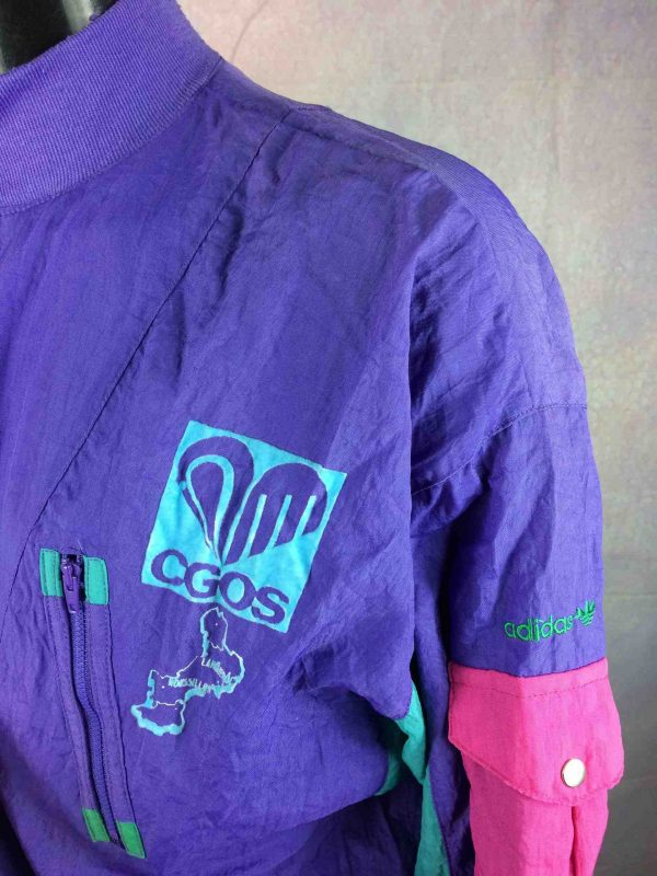 ADIDAS Jacket Vintage 90s Made in Taiwan Gabba Vintage 3 scaled - ADIDAS Jacket Vintage 90s Made in Taiwan