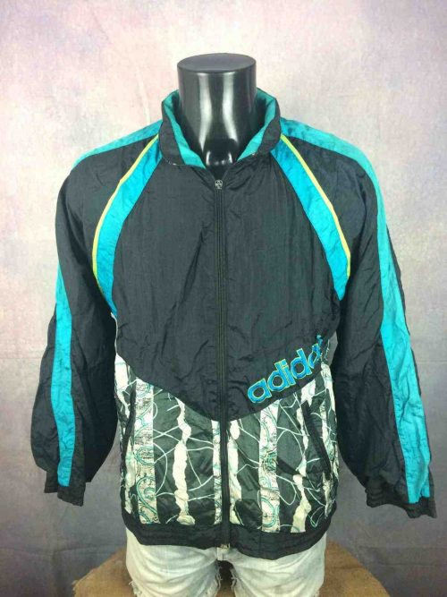 ADIDAS Jacket Vintage 90s Thailand Nylon - Gabba Vintage (2)