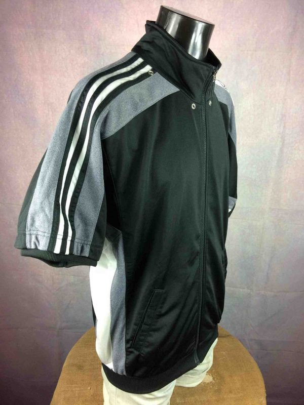 ADIDAS Jacket Warm Up Vintage 90s Training Gabba Vintage 4 scaled - ADIDAS Veste Vintage 90s Basketball Training