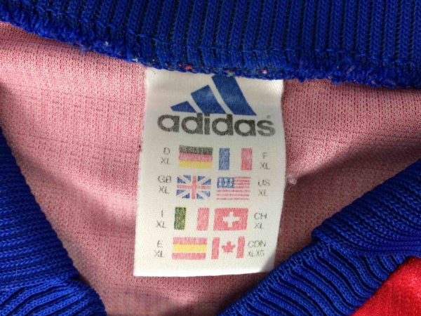ADIDAS Jersey Germany Vintage 90s Made in UK Gabba Vintage 1 scaled - ADIDAS Maillot Vintage 90s Made in UK Football