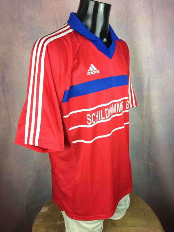 ADIDAS Jersey Germany Vintage 90s Made in UK Gabba Vintage 3 scaled - ADIDAS Maillot Vintage 90s Made in UK Football